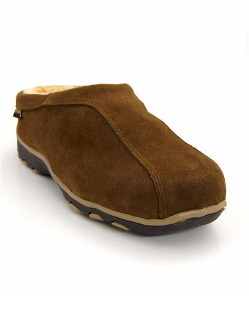Old Friend Suede Alpine Men's Fleece Lined Slipper