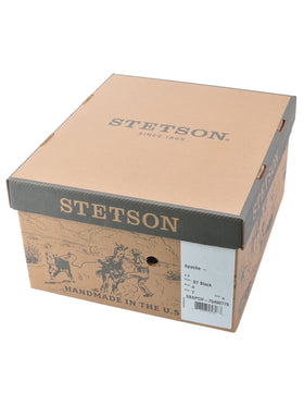 Stetson Apache 4X Buffalo Fur Felt With Hat Box