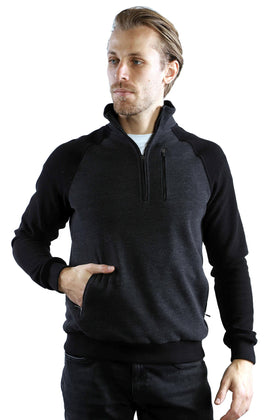 7 Downie St Polaris Quarter Zip Sweater