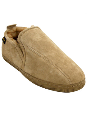Old Friend's Men's Tri Panel Romeo Slippers - Wide