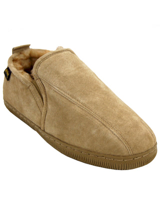 Old Friend's Men's Tri Panel Romeo Slippers - Wides (3E)