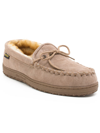 Old Friend's Men's Loafer Moccasin Slippers - Wides (3E)