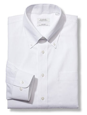 Enro Non-Iron Pinpoint Oxford Shirts 164180 - Big