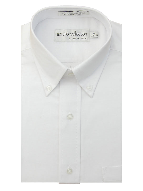 Roberto Collection Oxford Shirts in White