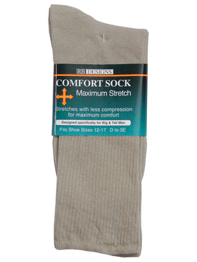 KB Designs Men's Comfort Dress Socks - Shoe Sizes