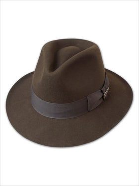 Dorfman Pacific Indiana Jones Fur Felt Hats