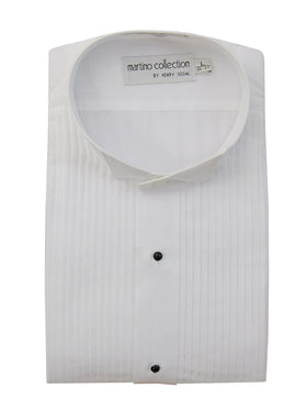 Wing Tip Tuxedo Shirt - Tall Man Sizes