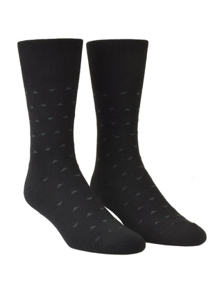 Euro Choice Diamond Pattern Cushion Sole Socks - Regular Size