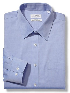 Enro Non-Iron Pinpoint Oxford Shirts 164179 - Big