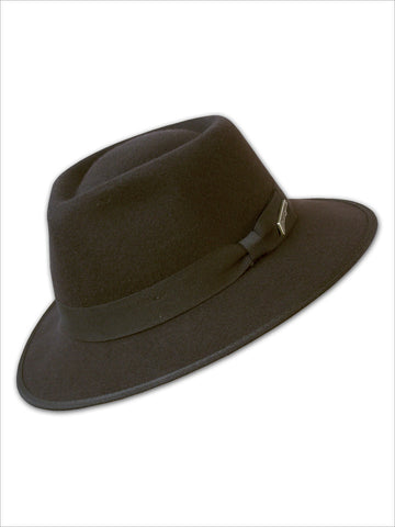 Dorfman Pacific Indiana Jones Wool Felt Boy's Hats