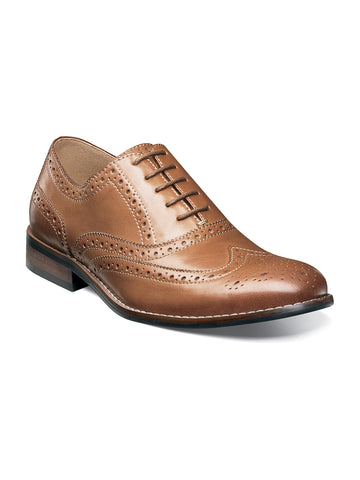 Nunn Bush TJ Wingtip Oxford Dress Shoes - Wide Wid