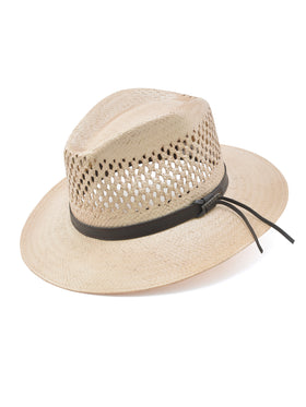 Stetson Shantung Straw Peak View Vented Hat in Cop