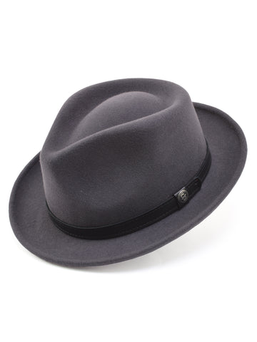 Stetson 100% Wool Felt Prof Hats in Caribou
