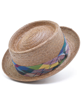 Stetson Madrigal Straw Pork Pie Hats