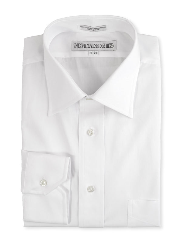 Indivualized Shirts USA Made Custom Short Man Dress Shirts A68WBO