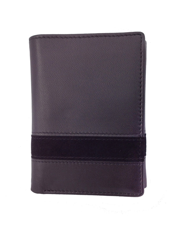Avallone Executive Tri-Fold Leather Wallet Billfold - 1ETTIBL