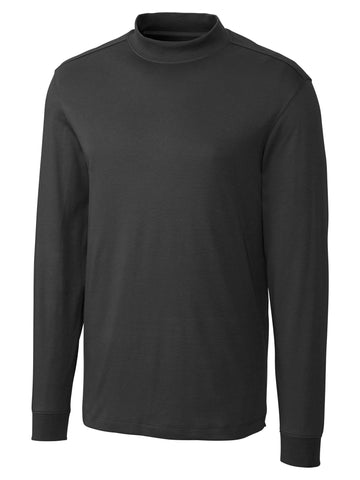 Cutter & Buck Long Sleeve Belfair Pima Mock MCK009