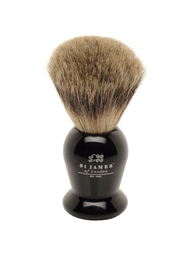 St James of London Pure Badger Shave Brush