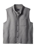 Pendleton Cotton Blend Men's Quilted Vest in Grey