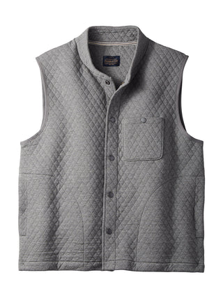 Pendleton Cotton Blend Men's Quilted Vest in Grey - RG338-61420