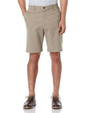 Savane Fine Line Stretch Short in Drizzle - SW-BS7