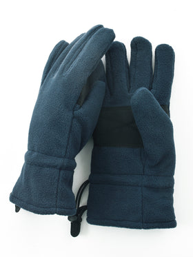 Lauer 100% Polyester Microfleece Men's Gloves in N