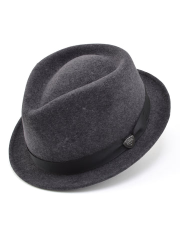 Dobb's Wool Felt 'Shorty' Hat in Grey