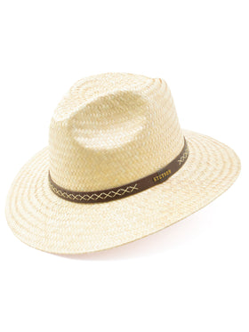 Stetson Mexican Palm Yarrow Hat in Natural