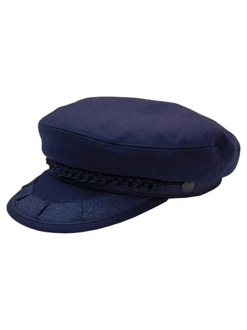 Greek Fisherman's Caps in Navy - 743-NVY