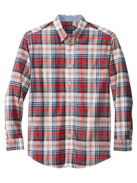 Pendleton Long Sleeve Madras Shirt in Blue/Red - RA259-65501