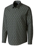 Cutter & Buck 100% Cotton Maxwell Jacquard Check S