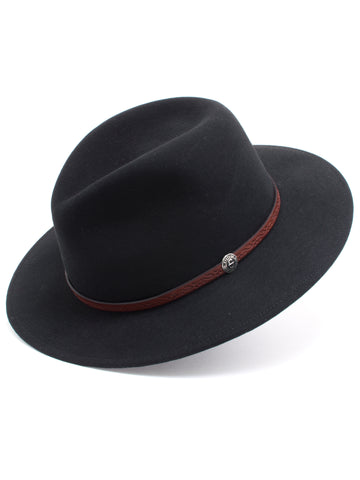 Stetson 100% Wool Felt 'Cromwell' Hats in Black