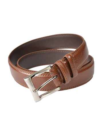 Florsheim Genuine Leather Pebble Grain Dress Belts