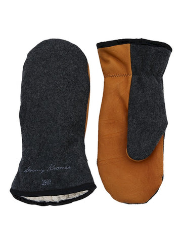 Stormy Kromer Tough Mitts in Charcoal Grey - 51870