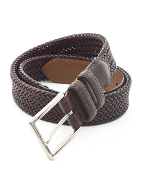 Lejon 35mm Braided Aniline Saddle Leather Clubhouse