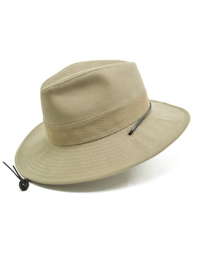 Dobbs 100% Cotton Safari Master Hat in Olive