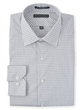 Damon Long Sleeve Tailored Fit Saratoga Check Dres