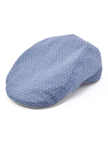 Stacy Adams 100% Cotton Ivy Cap in Denim
