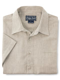 Indygo Smith Short Sleeve Sport Shirt in Brown - T