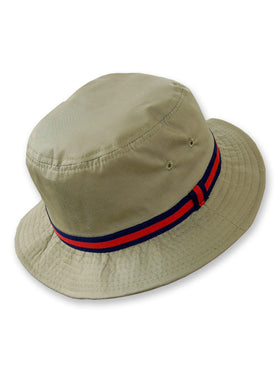 Dorfman Pacific Deluxe Bucket Rain Hats in Tan - 8
