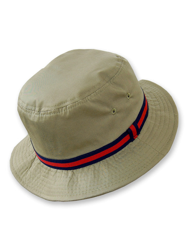 Dorfman Pacific Deluxe Bucket Rain Hats in Tan - 830D-Tan