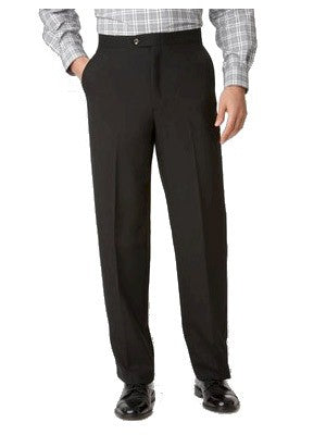 Ascott Browne Wool Blend Beltless Flat Front Pants