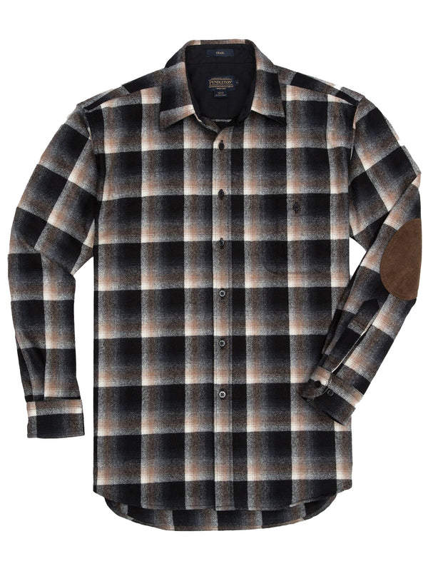 Pendleton Long Sleeve Wool Trail Shirts - AA032-31859