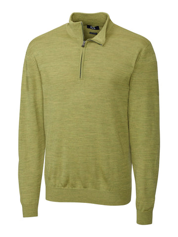 Cutter & Buck Long Sleeve Douglas Half Zip Mock in