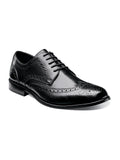 Nunn Bush Nelson Wingtip Oxford Dress Shoe in Blac