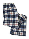 Foxfire 100% Cotton Flannel Coat Style Pajamas - B