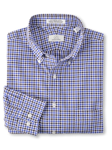Cooper & Stewart 100% Cotton Non-Iron Sport Shirt