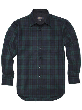 Pendleton Long Sleeve Wool Lodge Sport Shirts AA03