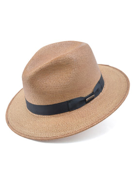 Stetson Palm Straw Trailhead Hat in Extra Toasty