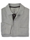 Foxfire Long Sleeve Cotton Blend Men's Polo Shirts